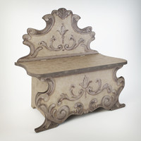 3ds max bench - stildecor florence