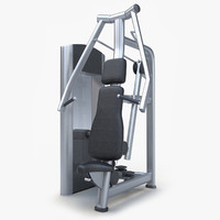 maya trainer chest press