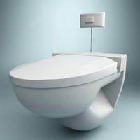 3d model wc