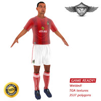 3d ready soccer player games