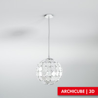 Ceiling lamp TERZANI,  Ortenzia Globe Suspension lamp