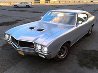 3d model buick gs 1970