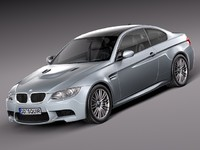 2010 2013 car sport 3d model