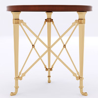 Cannes Gueridon Table 7400-42BS
