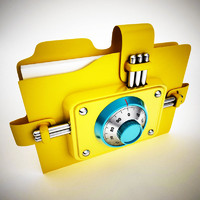 3ds max folder combination lock