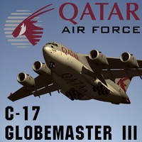 3d boeing c-17 globemaster iii