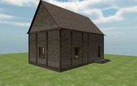 3d house fantasy model