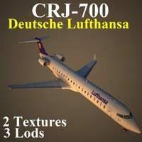 3d model regional jet dlh