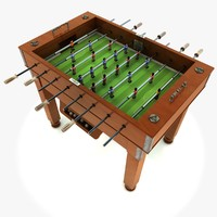 football table 3d obj
