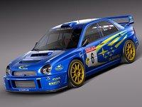 Subaru Impreza STi WRC 2001