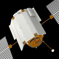 3ds max messenger spacecraft