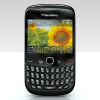 3d generic blackberry model