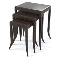 Fratelli Barri 3 side table set