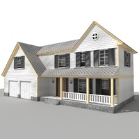 3d house home