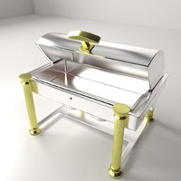 x oblong chafing dish