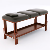massage table 3d max
