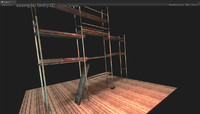 scaffolding unity3d 3d fbx