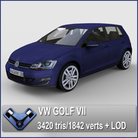 volkswagen golf 3ds