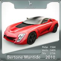 bertone mantide 2010 3d 3ds