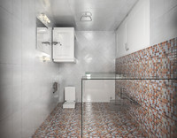 3d bath wc complete