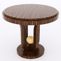 Francesco Molon T504 ROUND PERLA SMALL TABLE