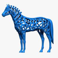 3d horse 2014 model