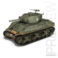 M4A3E2 - Sherman Assault Tank - Jumbo