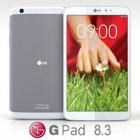 lg g pad 8 3d fbx