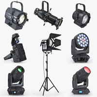 Stage lighting collection v1
