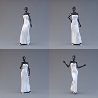showroom mannequin 06 3d model