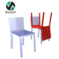 challenge chair materials 3d model