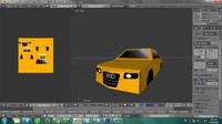 3d model car cartoo