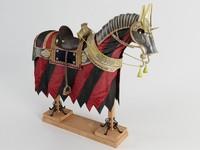 horse 3d 3ds