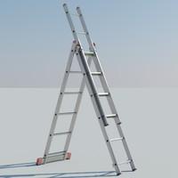 3 ladder 3d model