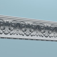 3d cornice peterhof k25 model