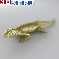 obj lizard brooch