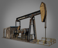3ds max oil pump