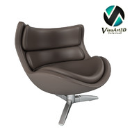 3ds max original comfort armchair