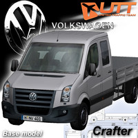3ds max volkswagen crafter dropside