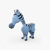 3ds max baby zebra