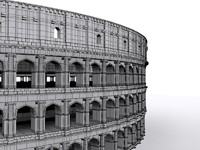 3d model coliseum colosseo