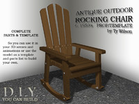 rocking chair rocker max