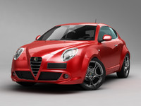 alfa romeo mito 2013 3d model