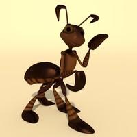maya ant rigged