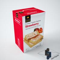 3d clover valley strawberry model