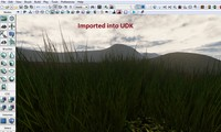 grass udk billboard 3d model