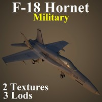 3d boeing military mil fighter model