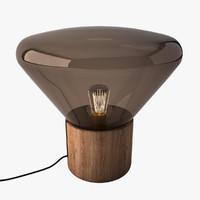 3d model muffin lamp 01