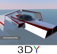 SpaceShip (Low Poly) | 3DY