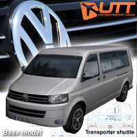 3d model of volkswagen transporter shuttle